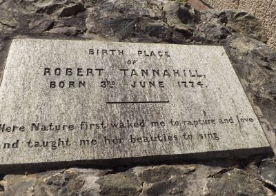 Birth Place Robert Tannahill