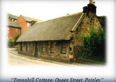 Old Tannahilll cottage 1774
