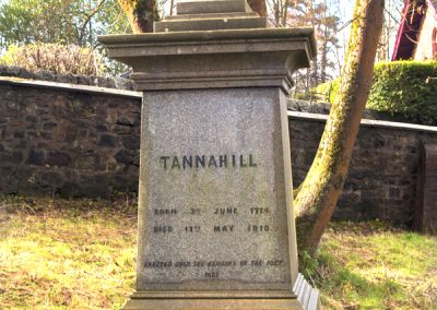 Tannahills Grave stone By Karen Brodie